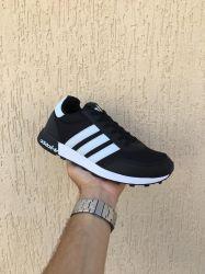Adidas Neo Preto com Branco